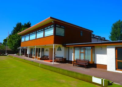 Broughty's beautiful clubhouse