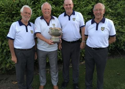 2019 Broughty Bowlers win Angus Bowling Association Fours