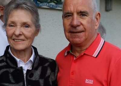Jim McLean Tribute Donation Presented to Doris McLean at Gent's Closing day